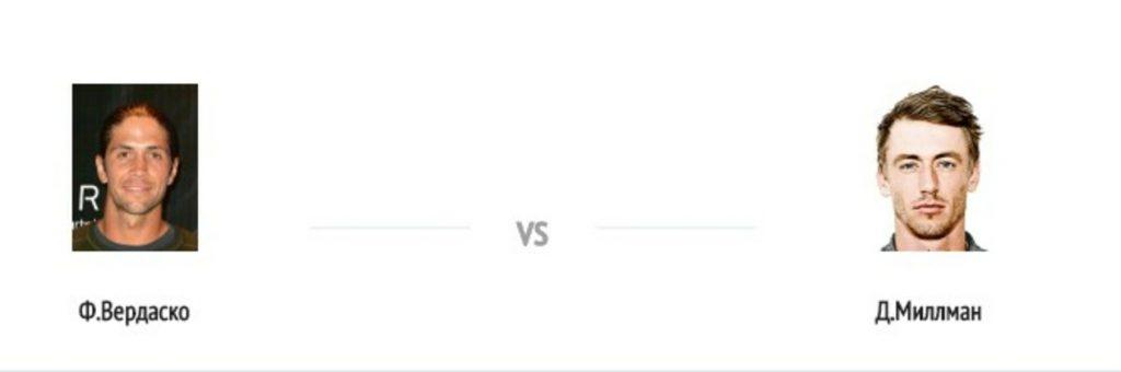 Прогноз на матч Германия ATP Cologne 2 hard Фернандо Вердаско против Джон Миллмана 20 октября 2020