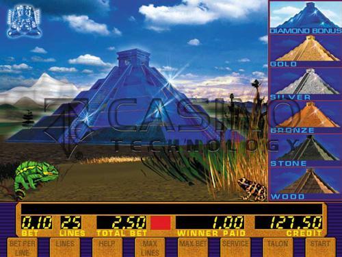 бонус игра брилиантовая пирамида