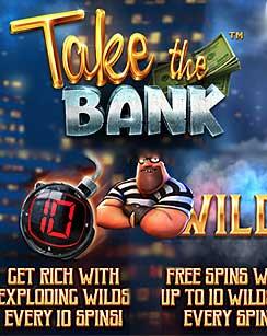 ТОП игровой аппарат с выводом за декабрь 2019 Take the Bank